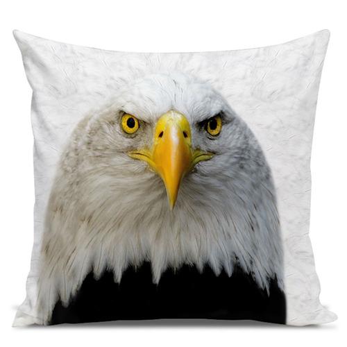 almofada águia americana 45x45cm