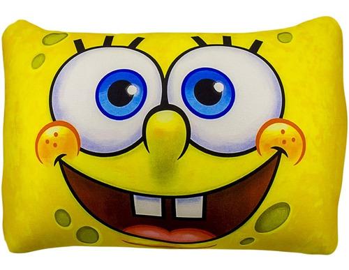 almofada bob esponja com boneco de pelúcia patrick oferta