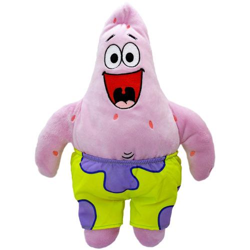 almofada bob esponja com boneco de pelúcia patrick promoção