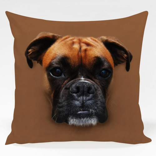 almofada cachorro boxer