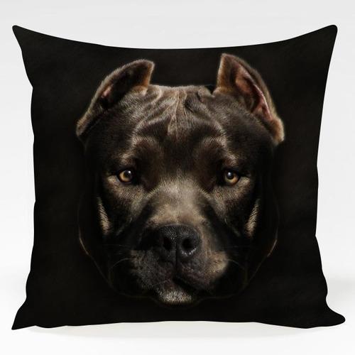 almofada cachorro pitbull