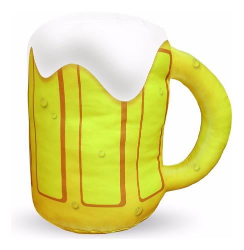 almofada caneca de chopp gigante homer simpsons cervejeiro