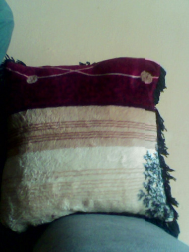 almofada: capa+enchimento 30x30