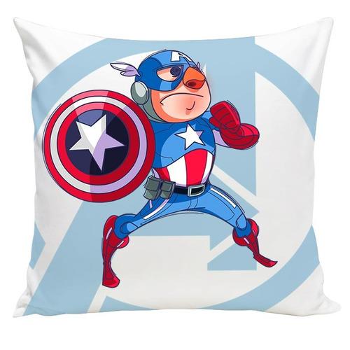 almofada cartoon capitão america