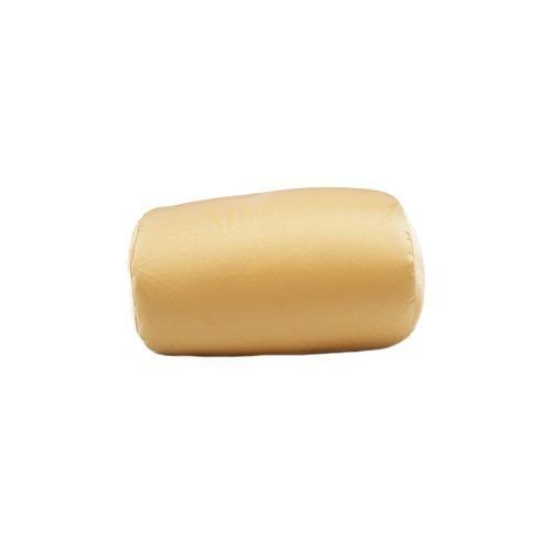 9827011db7f23e Almofada Cilíndrica Dourada 30x20cm (isopor)