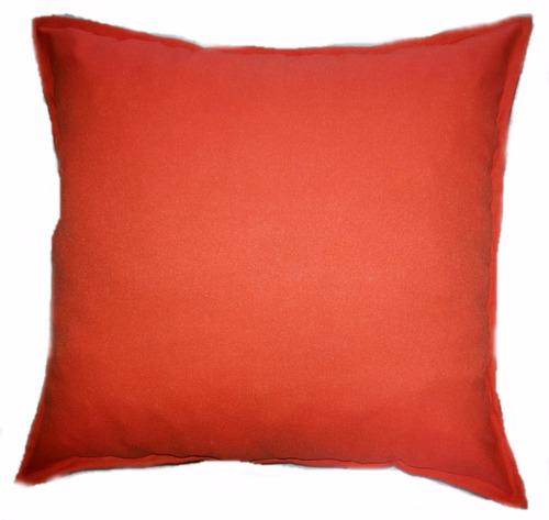 almofada com capa + refil 46x46 cm