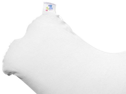 almofada de amamentação branco - protege a coluna 21x86x38