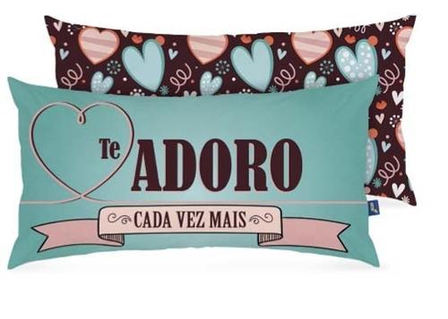 almofada decorativa corações - amor  - decoração - enfeite