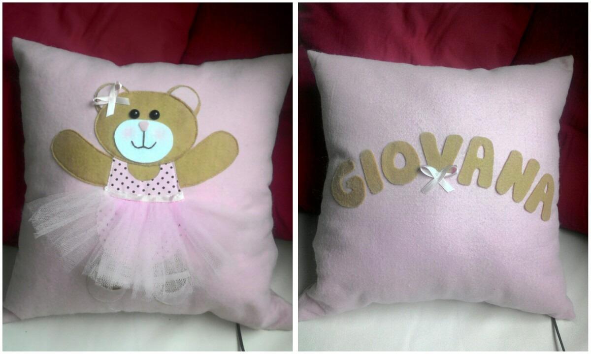 6a238239a Almofada Decorativa Para Bebê E Meninas