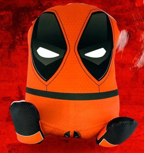 almofada decorativa poppocket deadpool