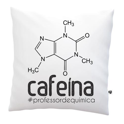 almofada dia dos professores cafeína química