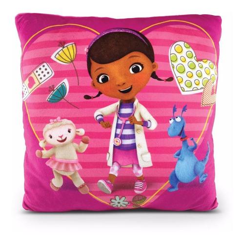 almofada doutora brinquedos macia disney 30 x 30 dtc
