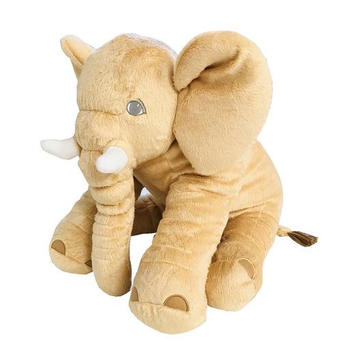 almofada elefante pelúcia 62cm travesseiro para bebê dormir