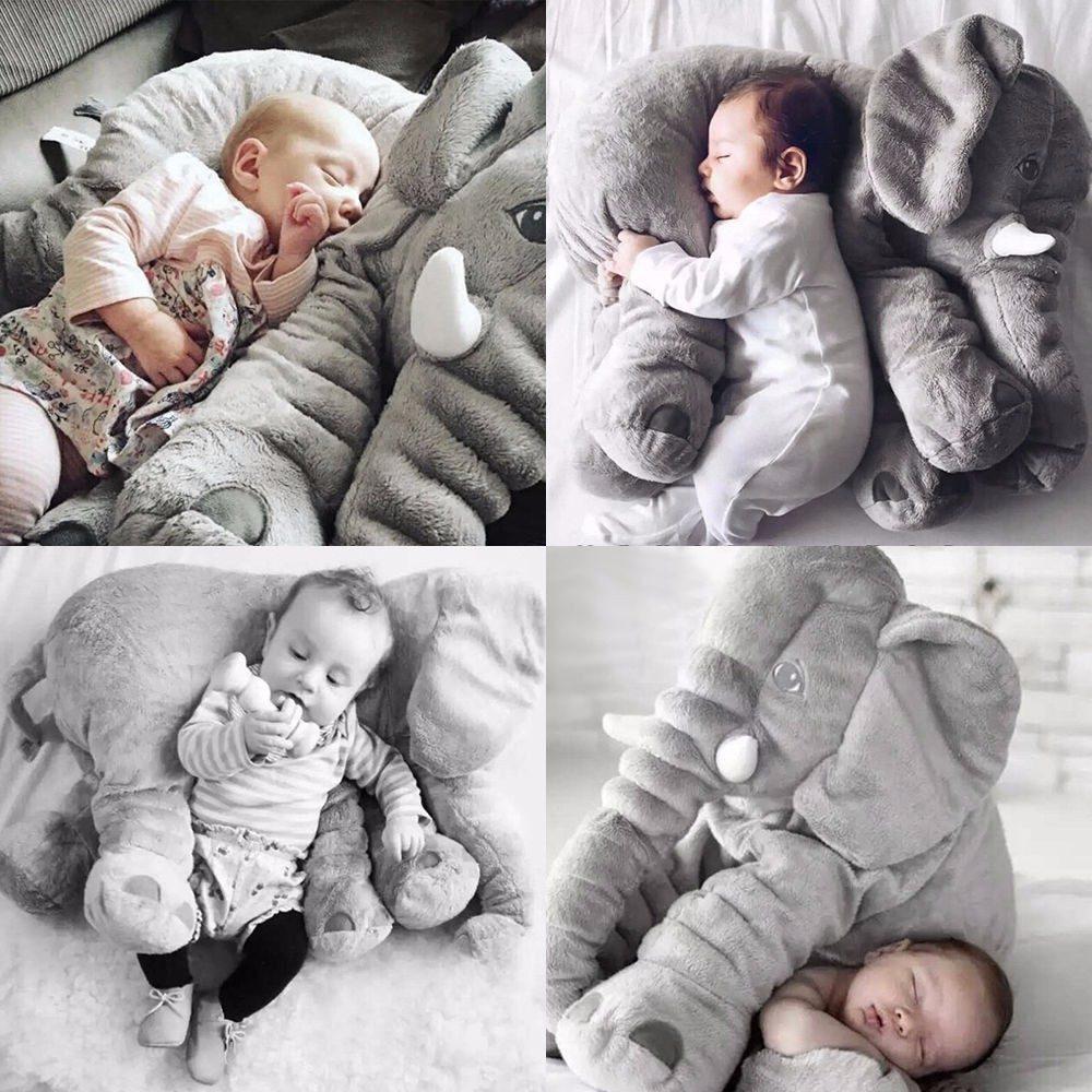 almofada elefante travesseiro 60 cm baby frete gr tis r 120 00 em mercado livre. Black Bedroom Furniture Sets. Home Design Ideas