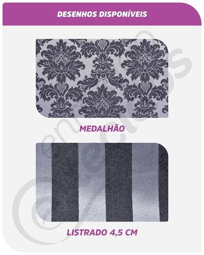 almofada em tecido jacquard marrom adamascado 45cm x 45cm