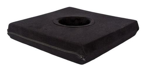 almofada especial quadrada com orifício