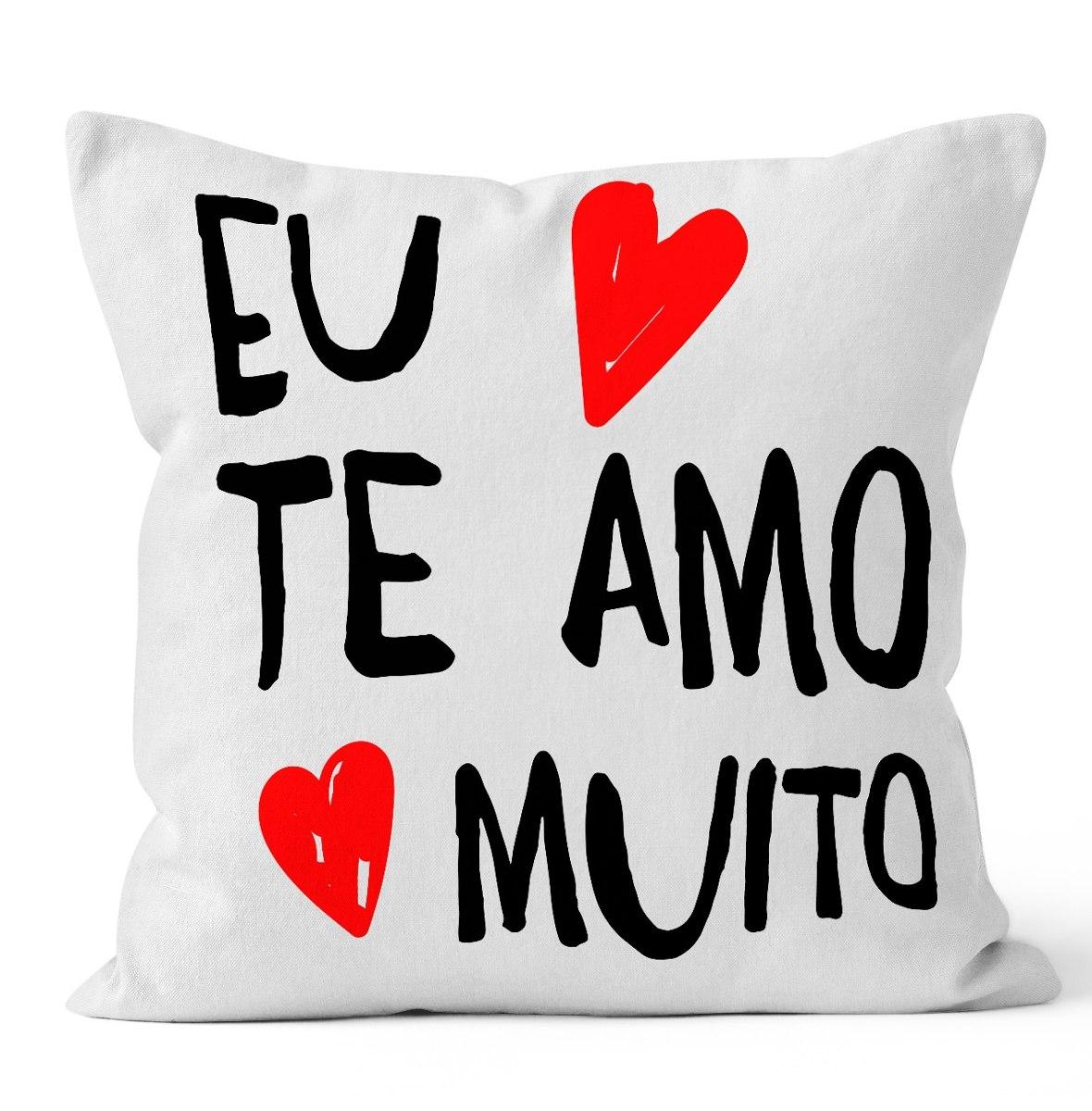 3db4236667393a Almofada Eu Te Amo