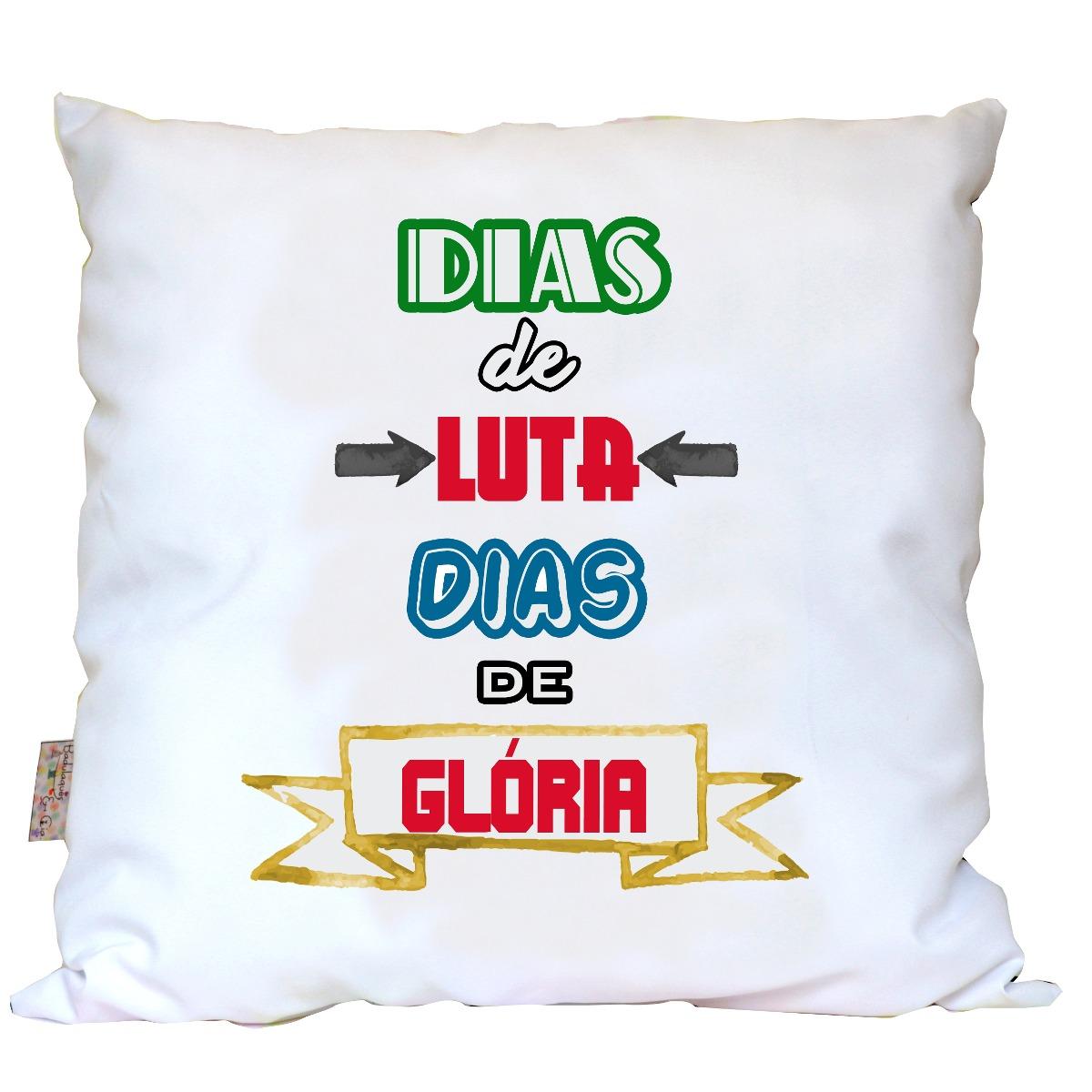 Almofada Frases Chorão Dias De Luta Dias De Glória R 4000 Em