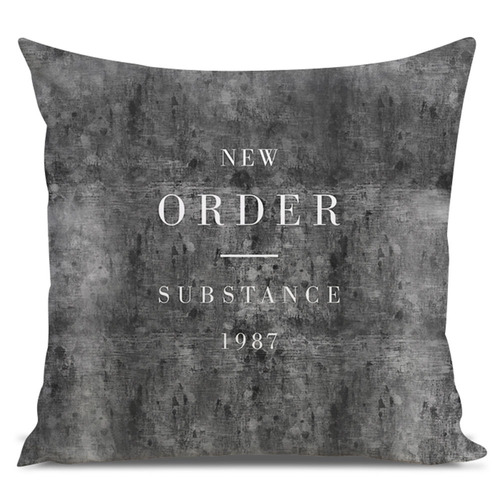 almofada indie new order substance 45x45cm