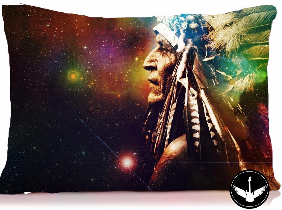 Almofada Indio Americano Desenho Tumblr C Enchimento R 29 98 Em