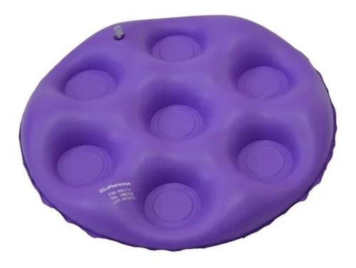 almofada inflável caixa de ovo redonda