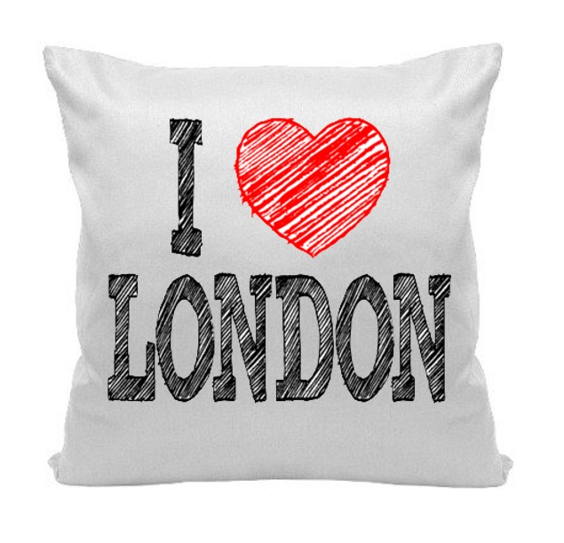 0f0041224 Almofada Londres London Love Amor Uk Inglaterra 30 X 30 Cm - R  36 ...