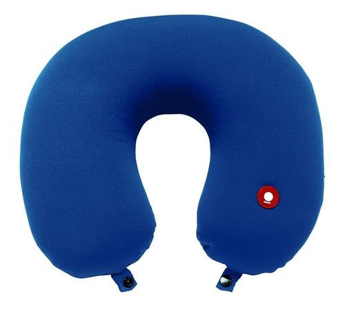almofada massageadora de pescoço e apoio relax para viagens