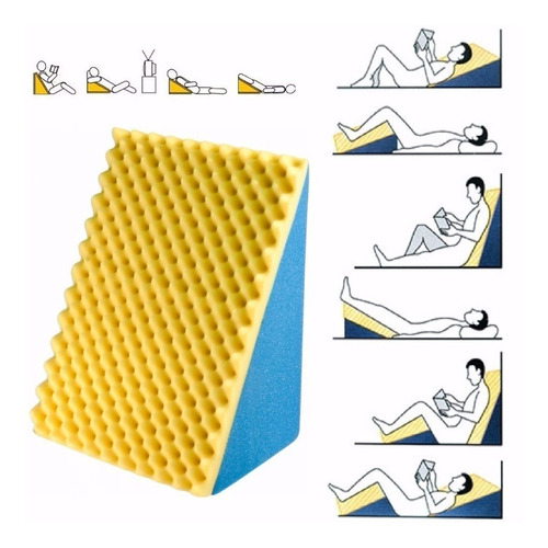almofada para descanso, leitura, amamentação, anti refluxo