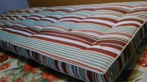 almofada para espreguiçadeira com captone