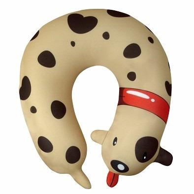 almofada para pescoço modelo cachorro totó