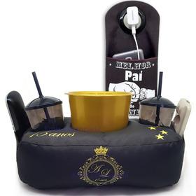 Almofada Personalizada De Pipoca + Brinde Porta Carregador