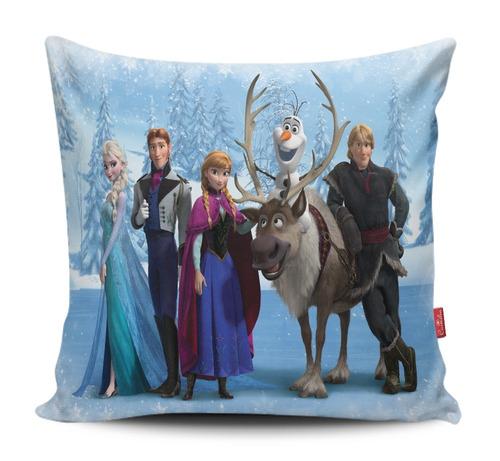 almofada personalizada frozen