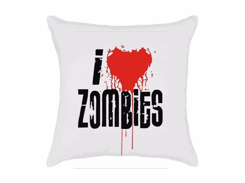 f3d768e65 almofada personalizada - i love zombies. Carregando zoom.