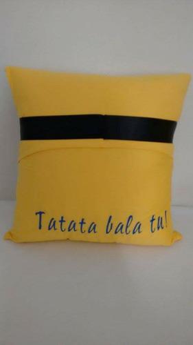 almofada personalizada minion stuart meu malvado favorito