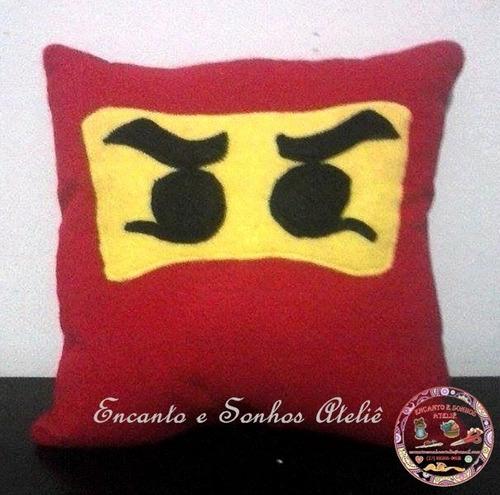 almofada personalizada - ninjago
