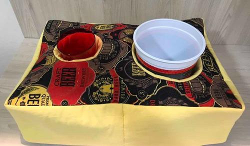 almofada pipoca com copo e balde
