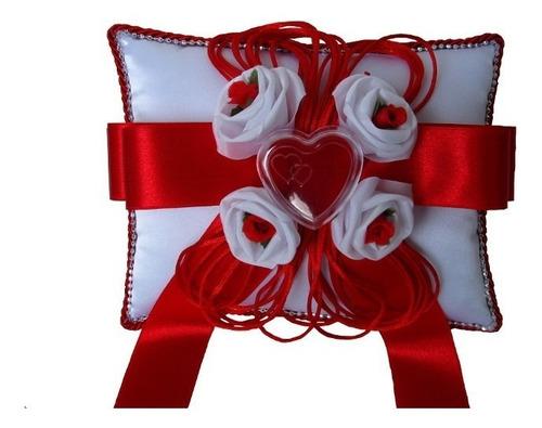 almofada porta aliança para casamento -