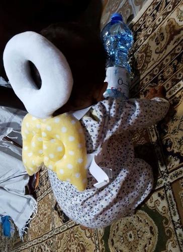 almofada protetora de cabeça para bebê - presente para bebê