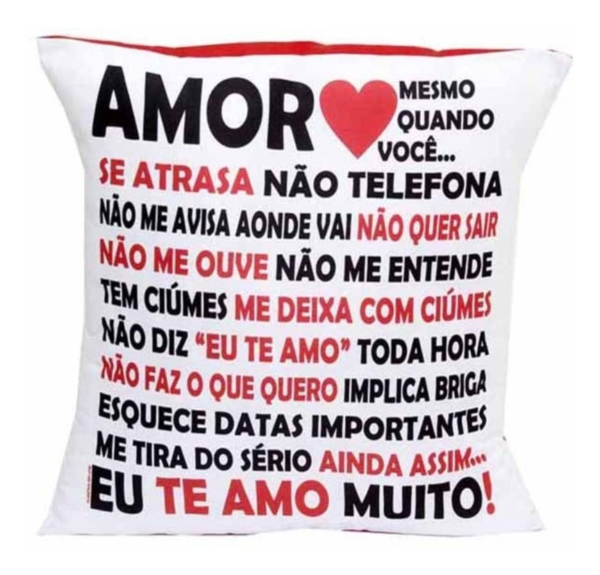 ff16910d9fc278 Almofada Quadrada Personalizada Namorados Amor Em Palavras
