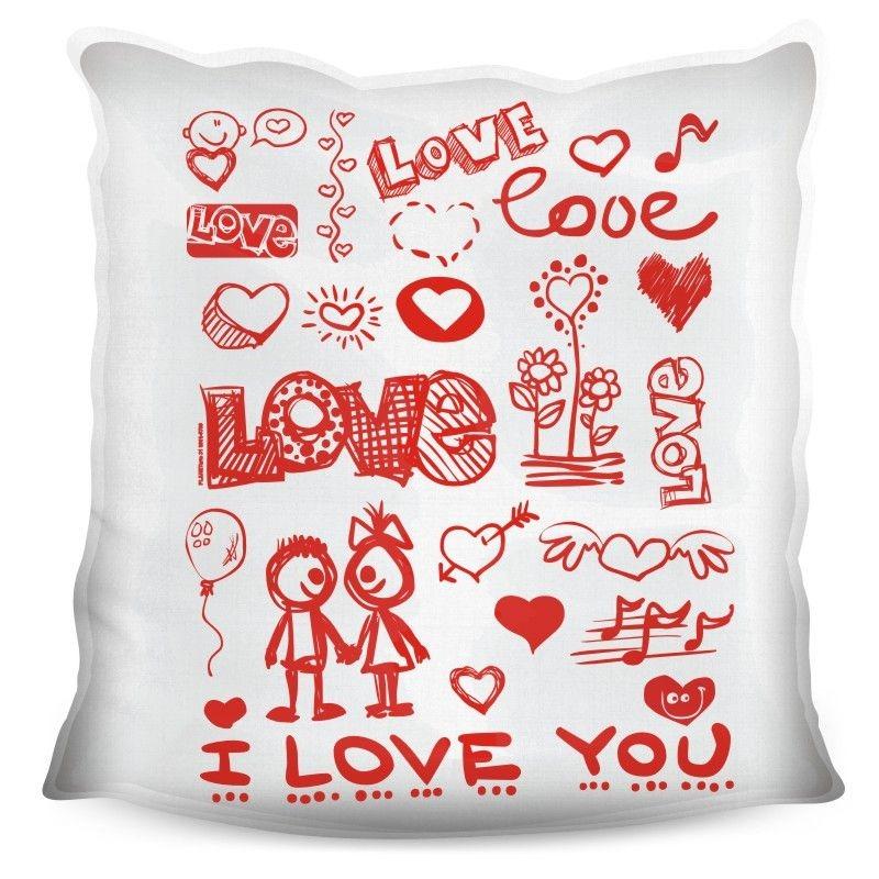da5624a12 almofada quadrada personalizada namorados love you. Carregando zoom.