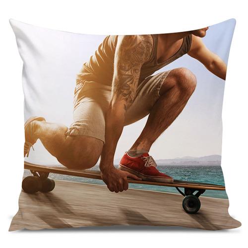 almofada skate longboard ride 45x45cm