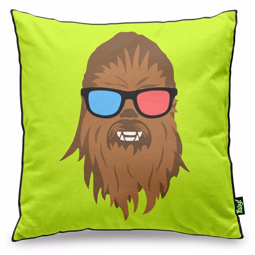 almofada star wars geek side - chill bacca