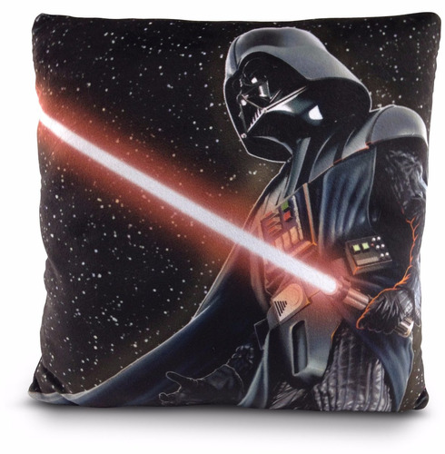 almofada star wars macia disney 30 x 30 dtc original