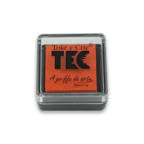 almofada toke e crie p/ carimbo laranja - alc014