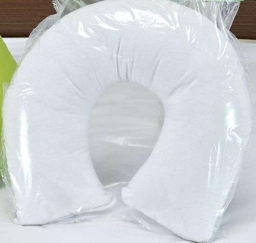 almofada travesseiro cervical pescoço para viagem com fronha