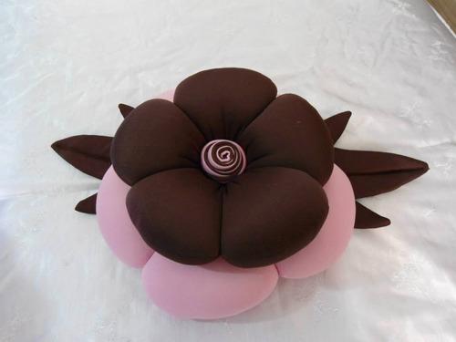 almofadas de flor