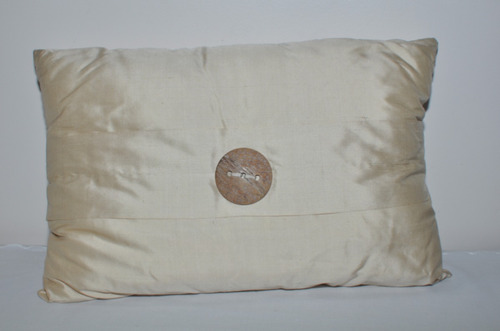 almofadas de seda