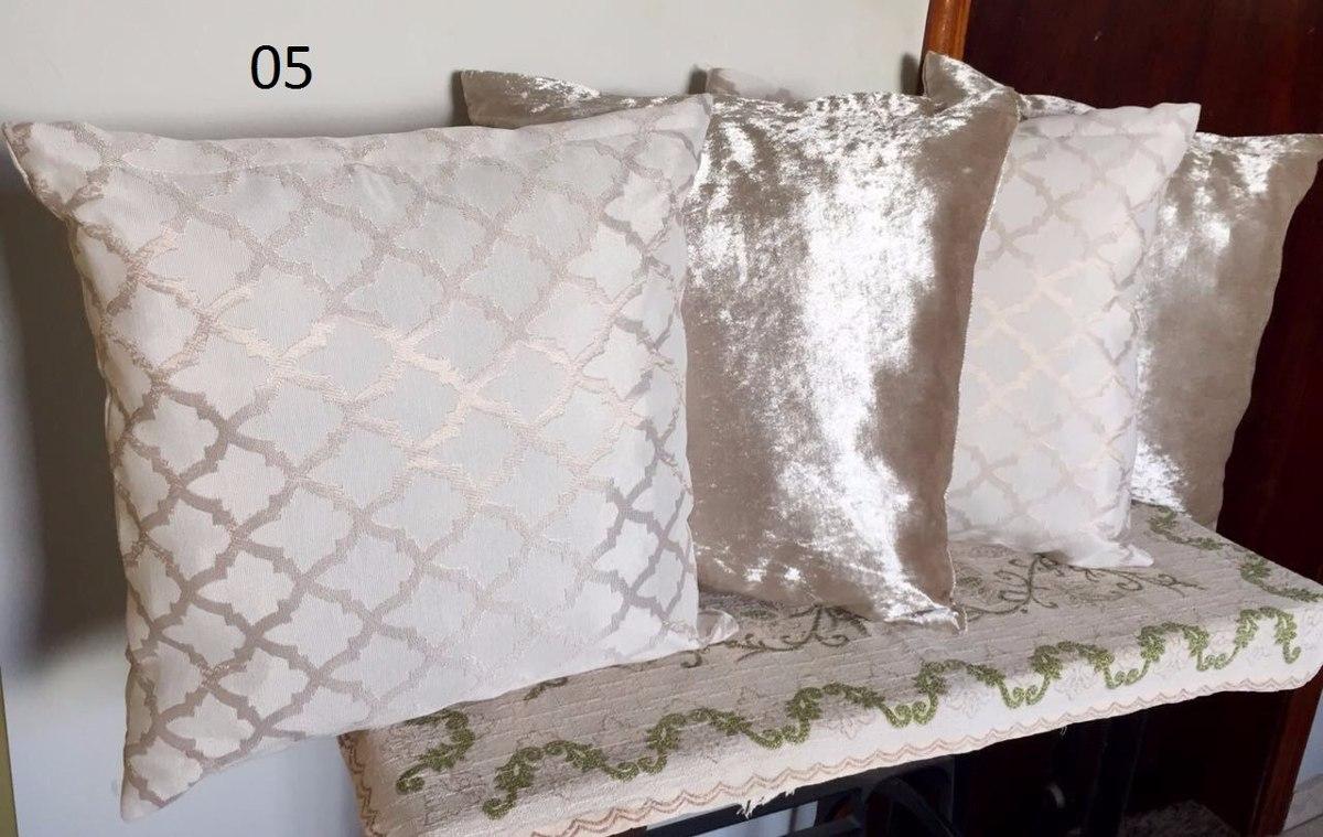 4fc9c2a24 almofadas decorativas para sala kit com 8 tons neutros. Carregando zoom.