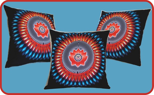 almofadas esotéricas personalizadas decorativas mandalas.