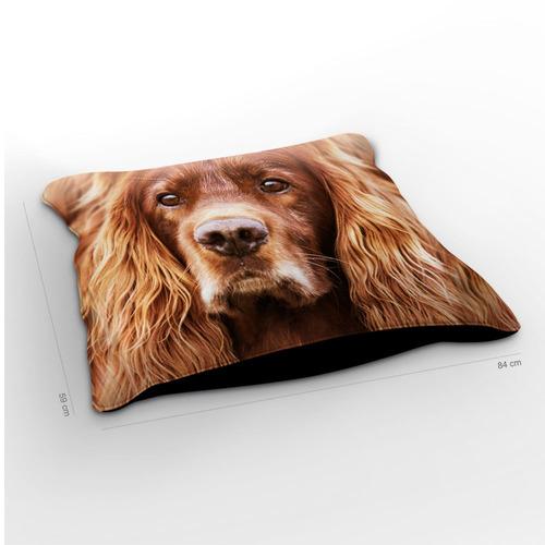 almofadão cachorro setter 85x60cm